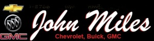 Thanks to John Miles Chevrolet, Buick, GMC for sponsoring our Fall 2013 Car Show.